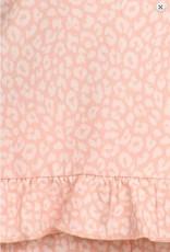 Tee and Capri Sleep Set - Pink Leaopard - Marilyn Monroe Fashion Go