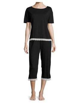 Cosabella Sonia Sleep Set - Tee & Cropped Pant - Cosabella