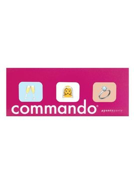 Commando Bridal Panty 3 Pack - Commando