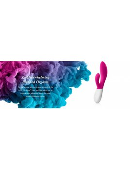 Lelo Lelo Ina Wave Rabbit Massager - Plum