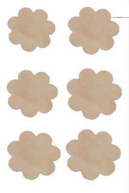 Anemone Breast Petals - 3 pair Anemone
