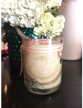 "Under the Influence Candles Perrier Jouet Belle Epoque Rose - ""Honeysuckled""  - Candles Under The Influence"