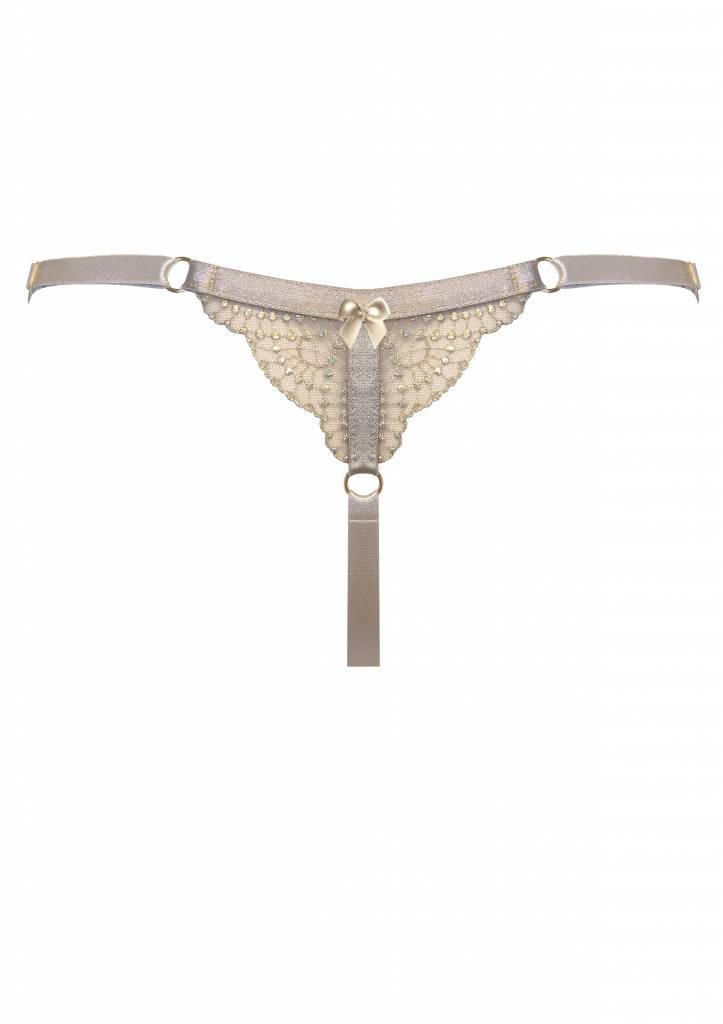 Bordelle Kizette Adjustable Strap thong - Bordelle
