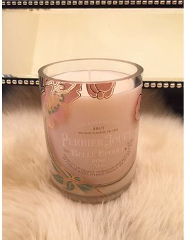 """Under the Influence Candles Perrier Jouet Belle Epoque Rose - """"Lavender Field""""  - Candles Under The Influence"""