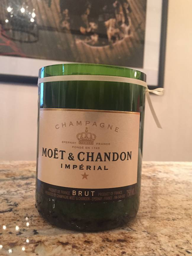 Under the Influence Candles Moet and Chandon - Fir & Fire - Candles Under The Influence