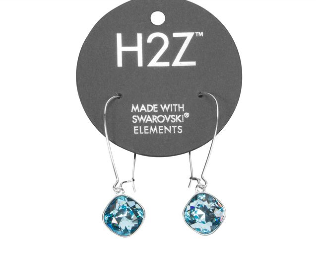 "Isabel Dangle ""Aquamarine"" Earring Swarovski"