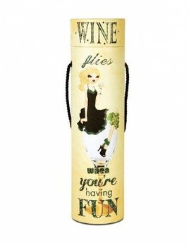 Wine Flies Blinking Wine Box