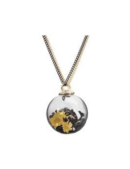 H2Z Bauble Necklace - Glass bubble