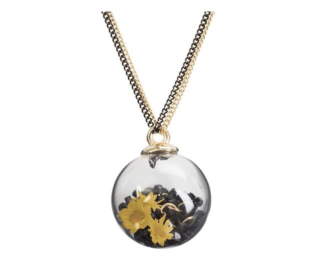 H2Z Bauble Necklace - Glass bubble