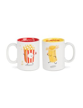 Popcorn and Butter Mug Set