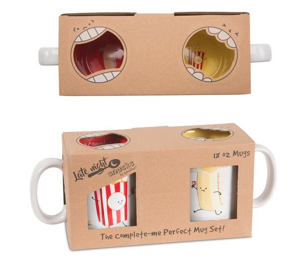 Popcorn and Butter Mugs - Pavilion