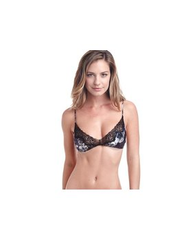 Samantha Chang Classic Silk Bralette and thong - TWO PIECE SET Samantha chang SC816615