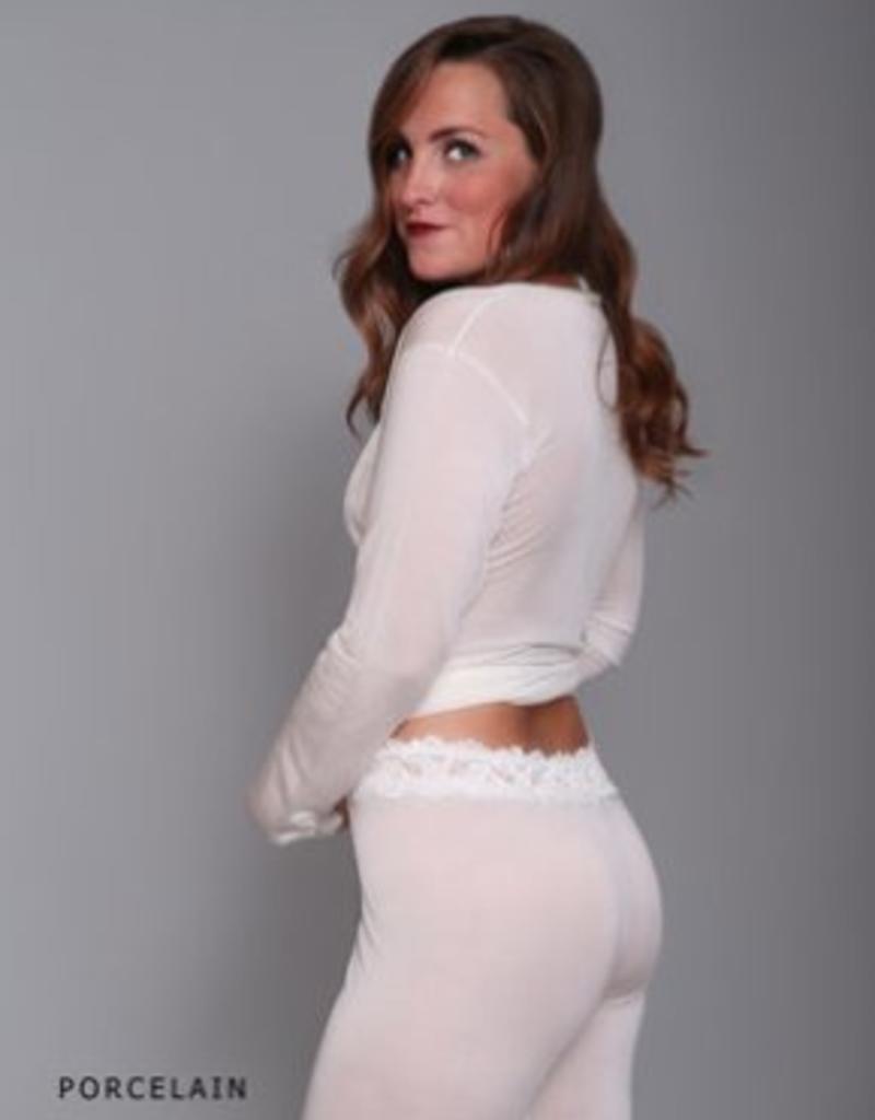 Linda Hartman Silk Knit Lounge Pants - Linda Hartman