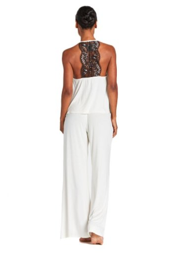 Cosabella Delight Canvas with Black Lace - Cami and Pant Set - Cosabella