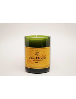 "Under the Influence Candles Veuve Clicquot - ""Leather & Tobacco"" Scent - Candles Under The Influence"