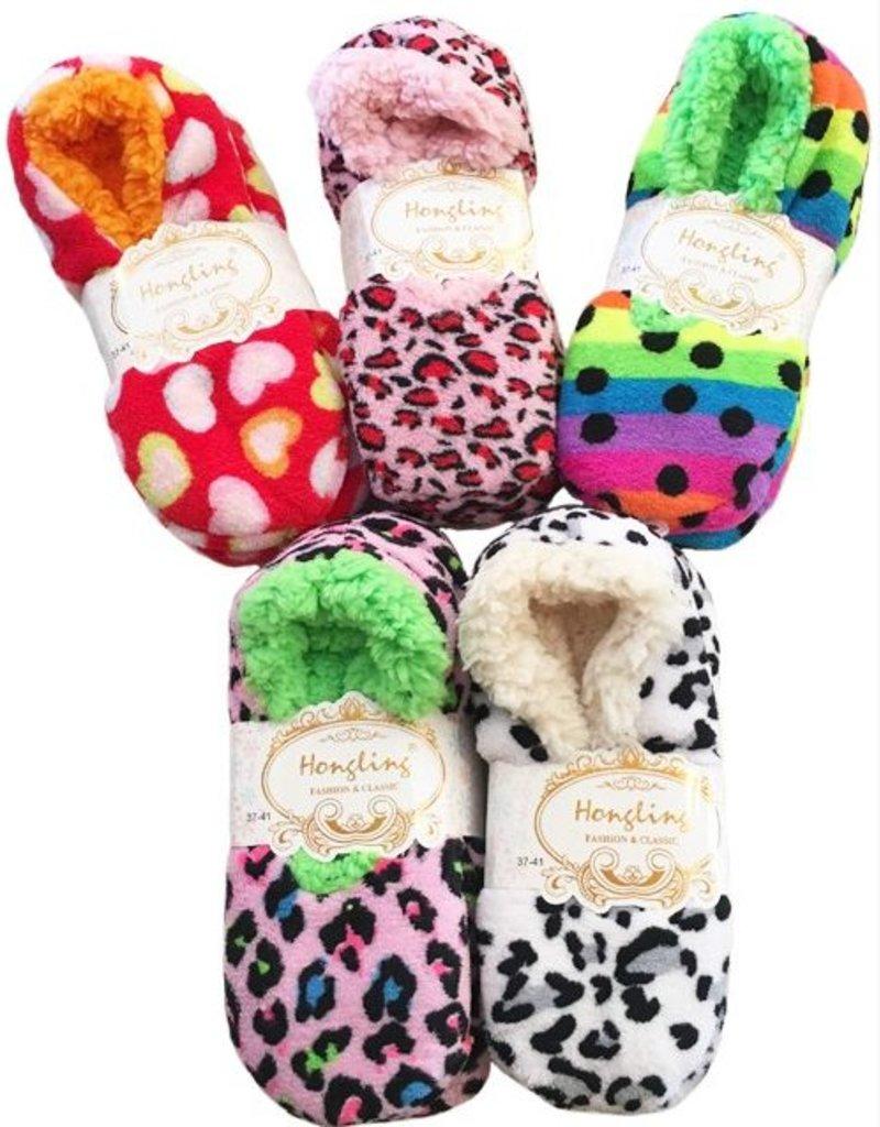 Anemone Slipper Socks - One size