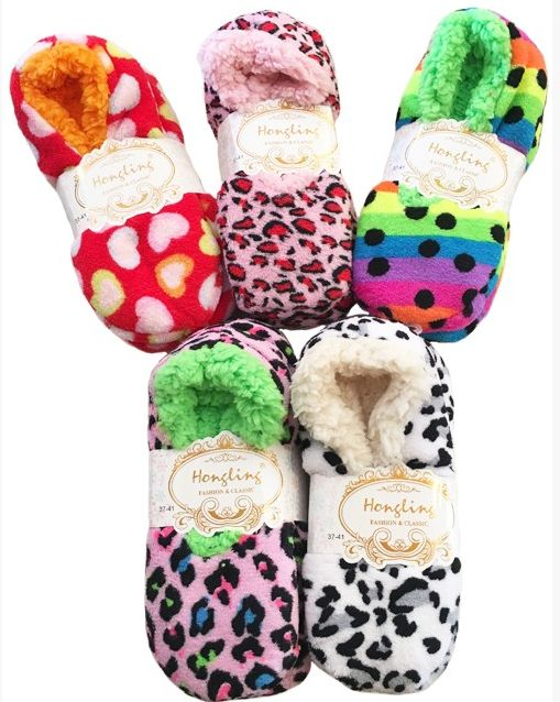 Anemone Slipper Socks - One size