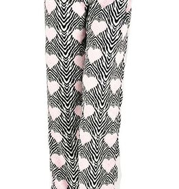 Cushy Fleece Pj Pants - Zebra