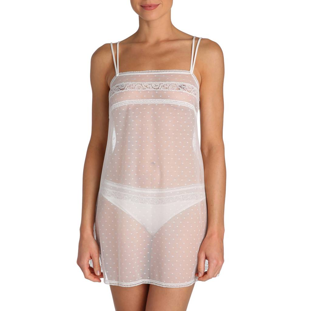 Marie jo Elle Chemise and Thong Set - Marie jo  Natural TWO PIECE SET