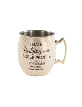 Partying w Sober - Moscow Mule Mug