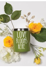 Love Blooms Here Candle