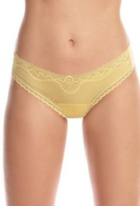 Commando Perfect Stretch Lace Thong - Commando O/S
