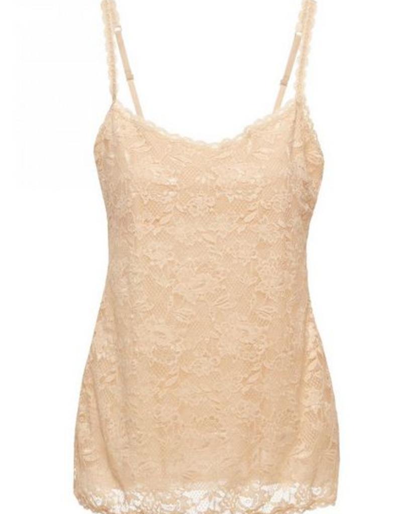 Cosabella Sassie Long Lace Camisole - Cosabella