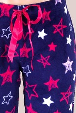 Cushy Fleece Pj Pants - Navy Star