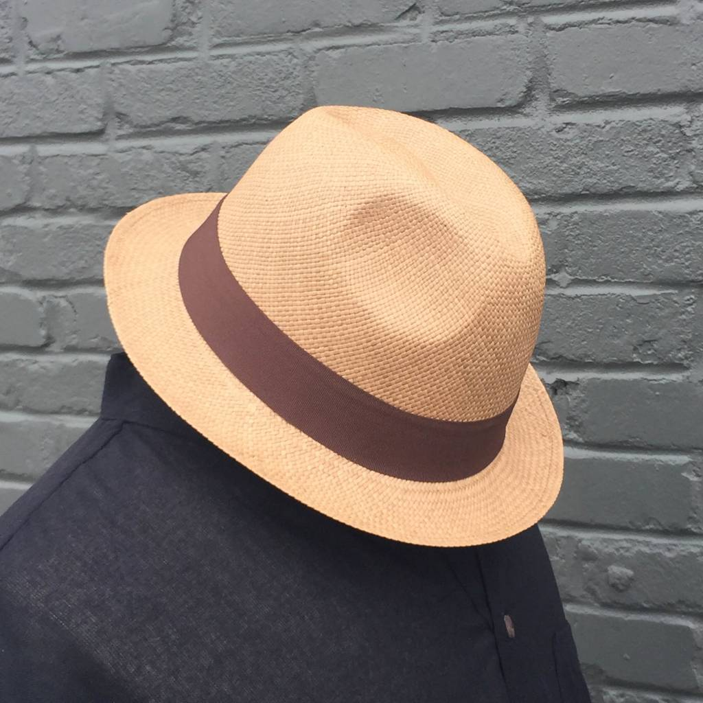 Panama Hats Snap Brim Hat