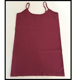 M Rena Spaghetti Tank by M Rena - Antique Ruby