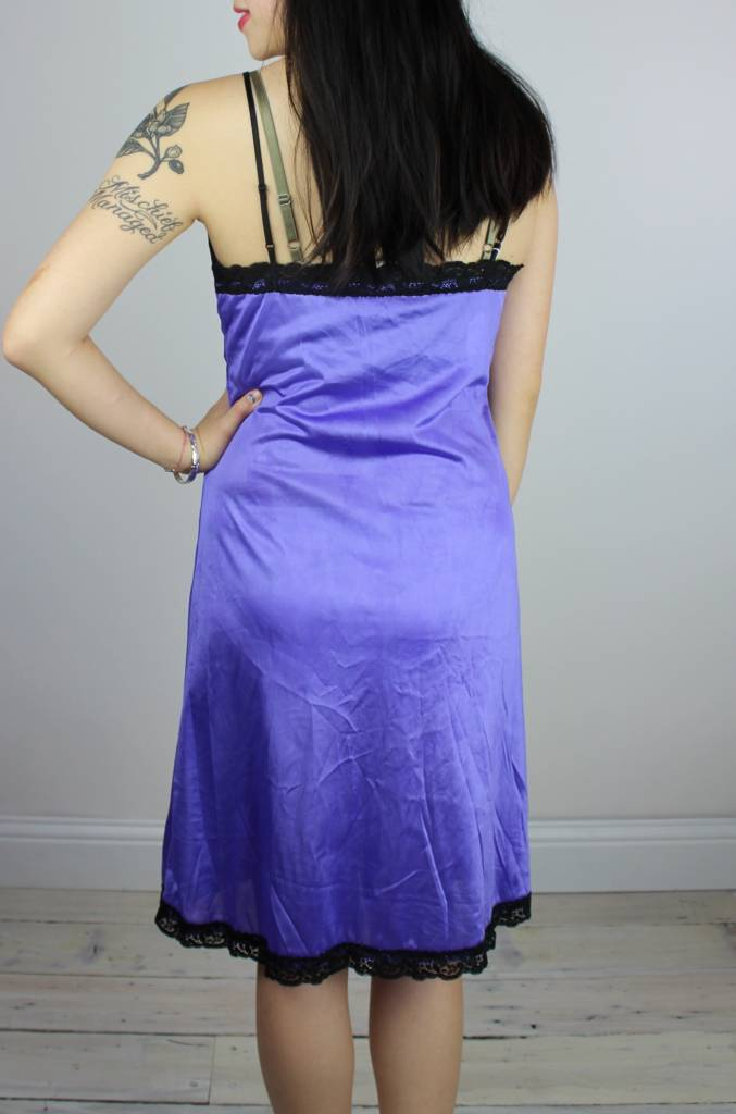 Sarah Bibb Erin Slip LIMITED EDITION - Hand Dyed Lilac