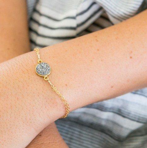 Katie Dean Jewelry Fantasia Druzy Bracelet