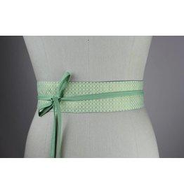 Sarah Bibb Mini Obi Belt - Deco