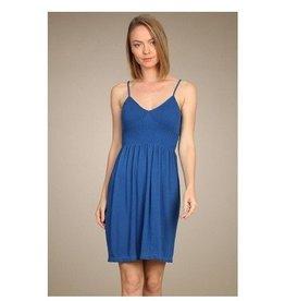 M Rena Spag Strap Dress- True Blue