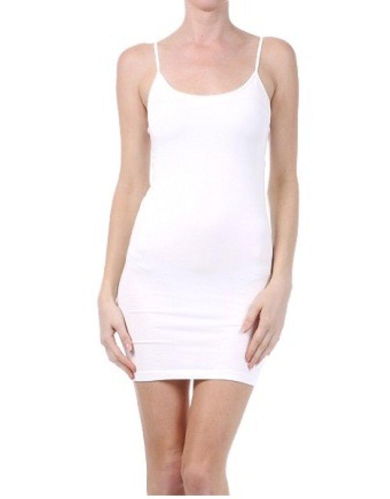 M Rena Long Cami Tunic by M Rena - Lavender White