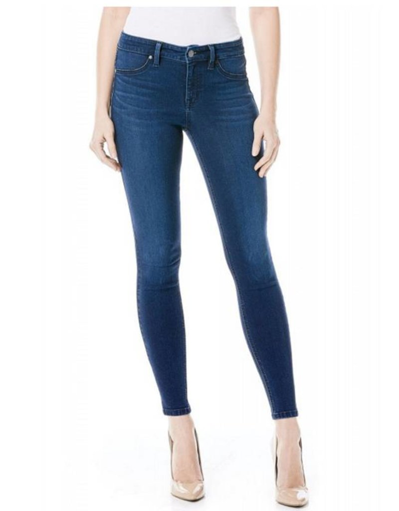 Level 99 Janice Mid-Rise Skinnies - Nob Hill