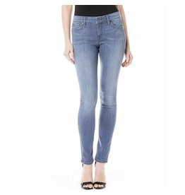 Level 99 Liza Mid-Rise Skinny Jean - Violet