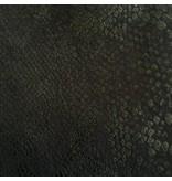 Level 99 Janice Mid-Rise Skinnies - Black Snake
