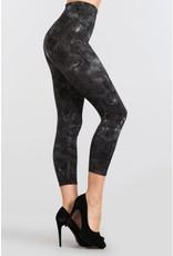 M Rena Tummy Tuck Leggings by M Rena - Black Tie Dye