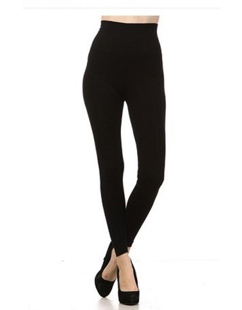 M Rena Tummy Tuck Leggings by M Rena - Black