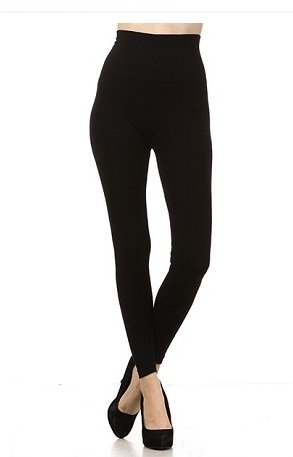 M Rena Tummy Tuck Leggings by M Rena - Black