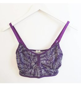 Cameo Bralet - Purple Fern