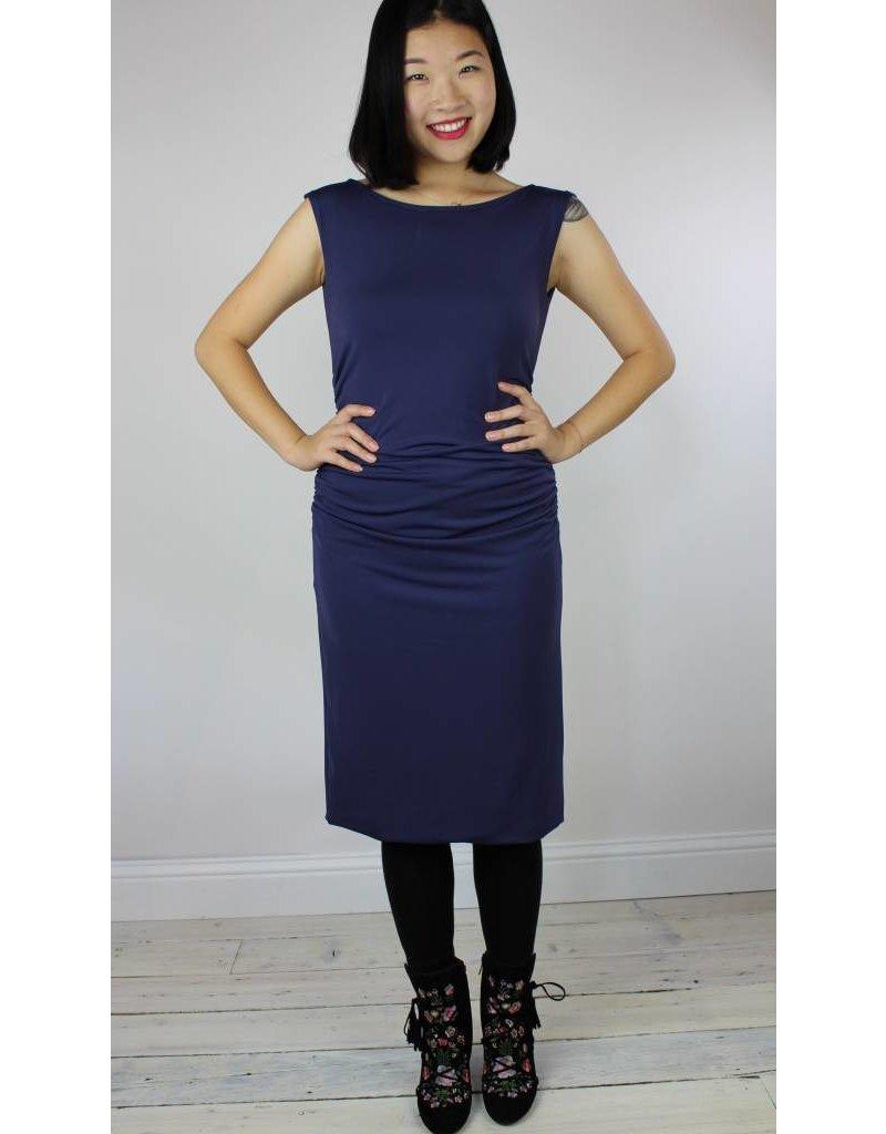 Sarah Bibb Dakota Body Con Dress - Larkspur