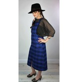 Sarah Bibb Reilly Jumper - Blue Plaid
