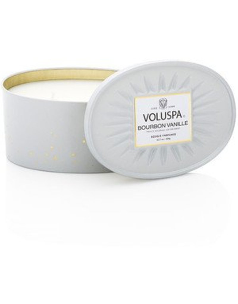 Voluspa Two Wick Decorative Tin - Multi