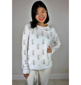 All Things Fabulous Cozy Sweatshirt - Rabbit