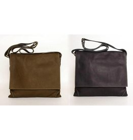 Fredd & Basha Cambridge Messenger Bag - Multiple Colors