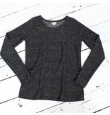 Sarah Bibb Mason Sweatshirt - Black Marl