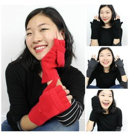 Cashmere Pop-Top Mittens - Multiple Colors