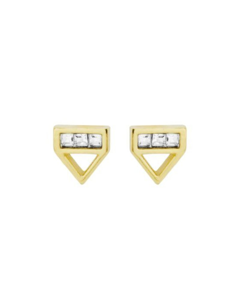 Katie Dean Jewelry Love Triangle Studs
